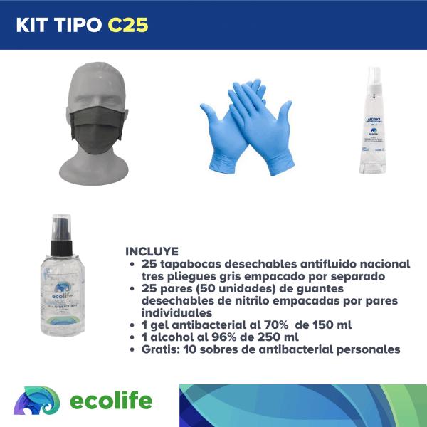 Kit tipo C25