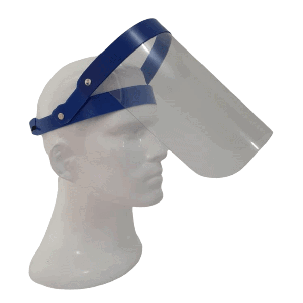 Protector facial antifluidos