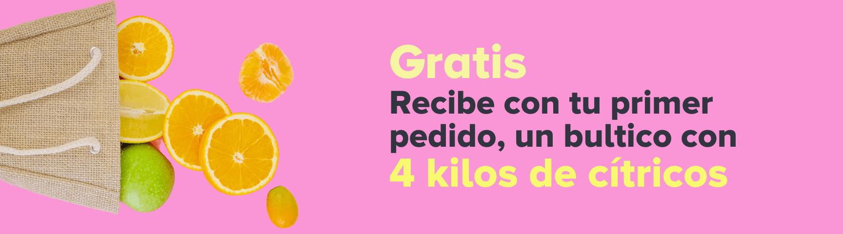 Gratis 4 kilos de cítricos por compras superiores a 80mil pesos en BoniFresh