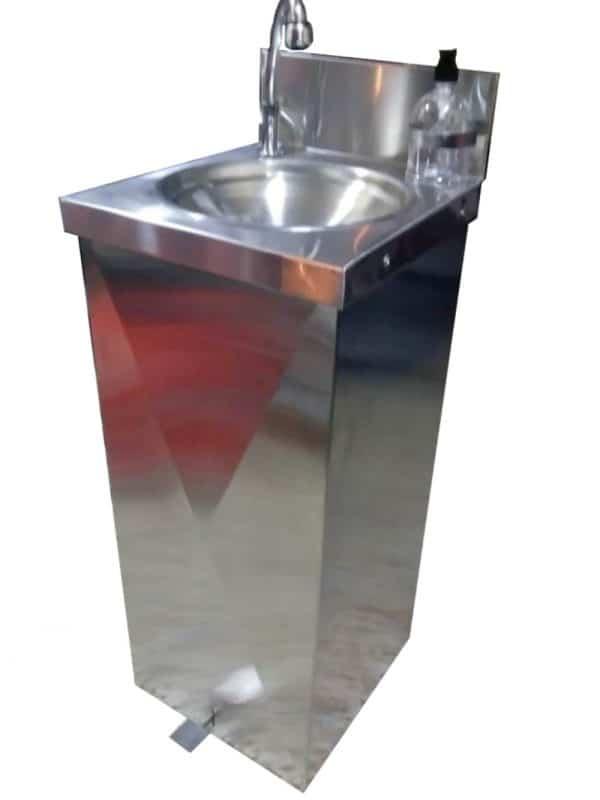 Lavamanos semi - portátil en acero inoxidable 100% + Instalación gratis (Bogotá)