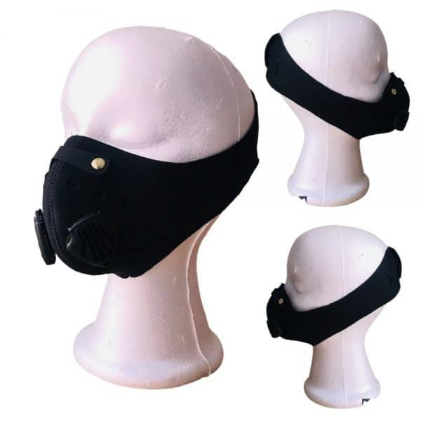 Pack x 3 Tapabocas deportivos con válvulas, filtros y ajuste en velcro - Envío gratis