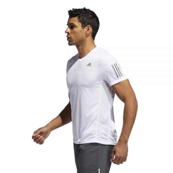 Camiseta Hombre Adidas Own The Run Tee White   Original