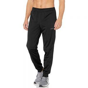 Pantalón Sudadera Hombre Adidas Essentials 3-Stripes Tapered Tricot Black | Original