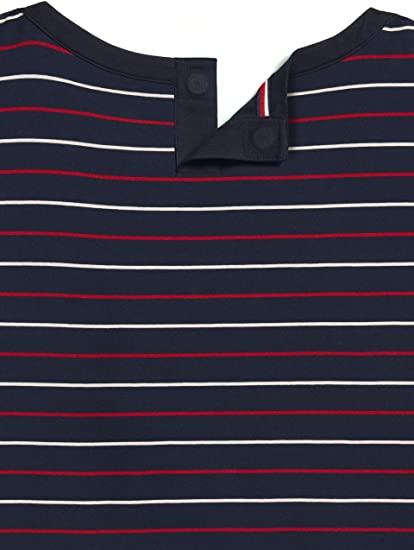 Blusa Mujer Tommy Hilfiger Short Sleeve Stripes  | Original