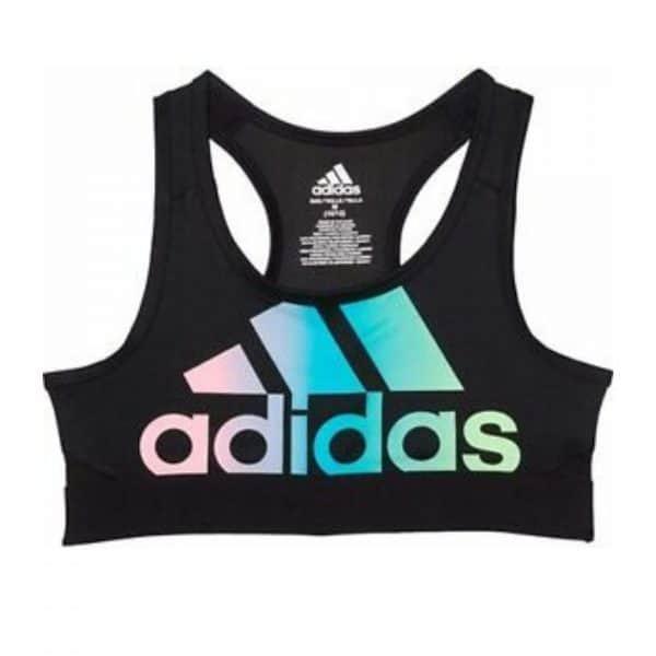 Top Deportivo Niñas Adidas Don't Rest Logo Bra Negro Colores | Original