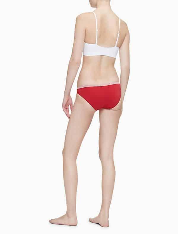 Bralette Mujer Calvin Klein Solar Seamless Lightly Lined White | Original