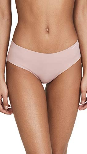 Pack 2 Panty Mujer Calvin Klein Invisible Hipster Nymphys - Pink | Original