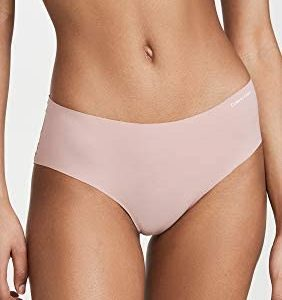 Pack 2 Panty Mujer Calvin Klein Invisible Hipster Nymphys - Pink   Original