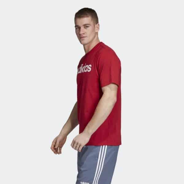 Camiseta Hombre Adidas Badge Of Sport Intercept Tee Red | Original