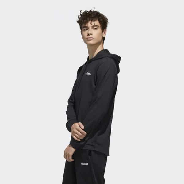 Hoodie Masculino Adidas Over The Head Black   Original