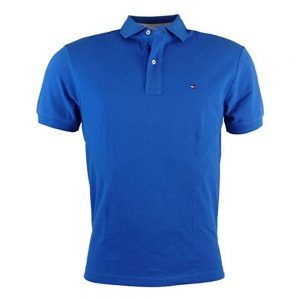 Polo Hombre Tommy Hilfiger Classic Fit Ivy Round Blue | Original
