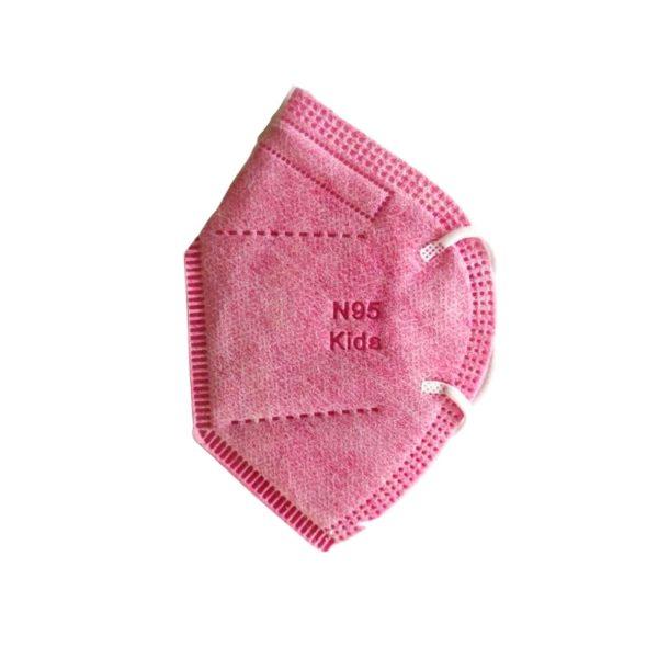 Lleva 20 Paga 10 Tapabocas N95 Rosa | Termosellados 5 capas INVIMA | Empaque individual - Unidad $2995