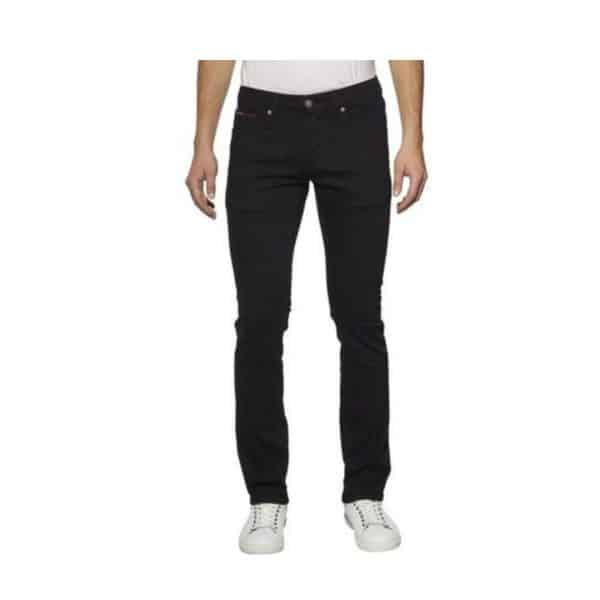 Pantalón Hombre Tommy Hilfiger Essential Tech Corduroy Black | Original