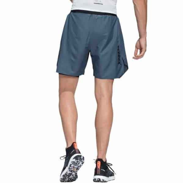 Short Hombre Adidas Terrex 2 en 1 Blue Grey | Original