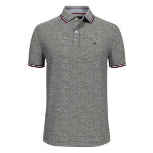 Polo Hombre Tommy Hilfiger Custom Fit Essential Performance Grey | Original