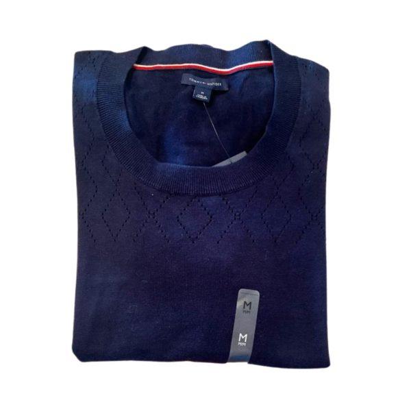 Saco Mujer Tommy Hilfiger Essential Scoop Neck Sweater Navy | Original