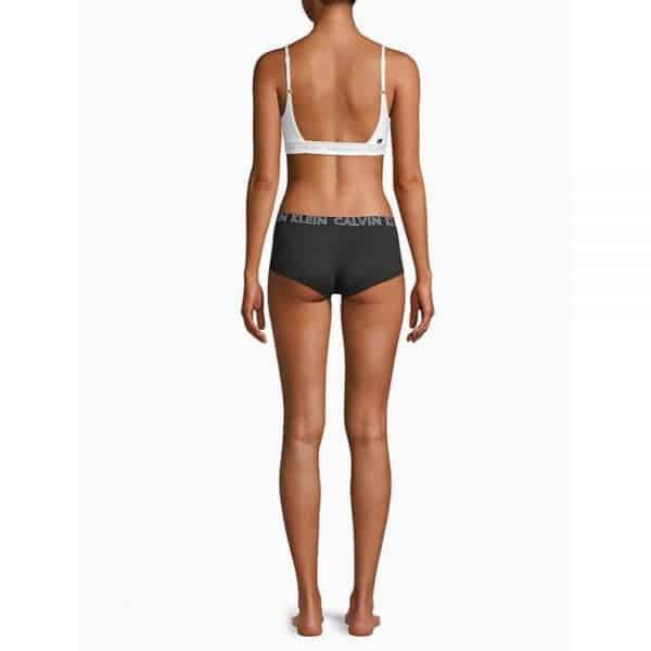 Panty Mujer Calvin Klein Ultimate Cotton Boyshort Black | Original