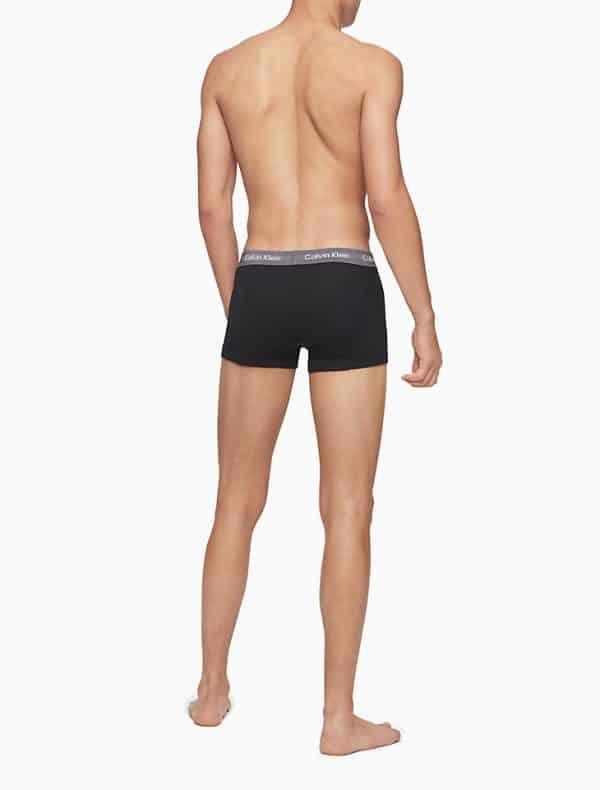 Pack 5 Bóxers Hombre Calvin Klein Trunk Cotton Classic Fit Colors   Original