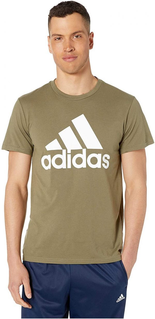 Camiseta Hombre Adidas Badge Of Sport Intercept Tee Green | Original