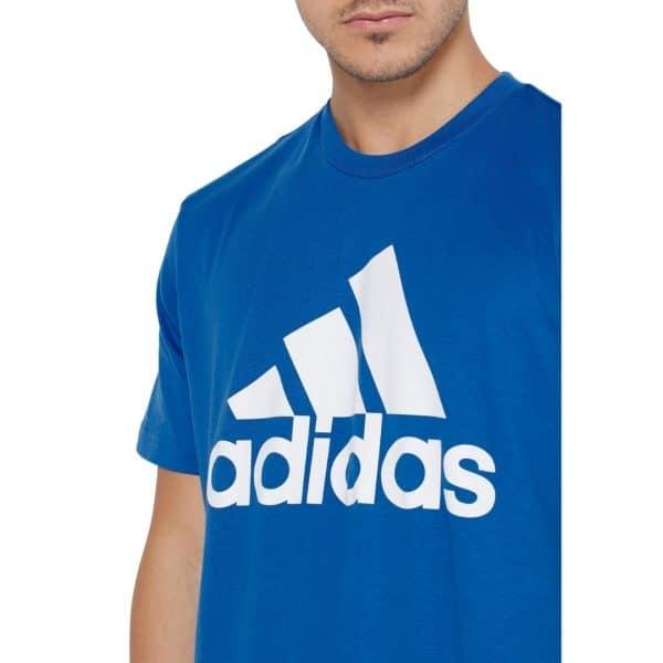 Camiseta Hombre Adidas Badge Of Sport Intercept Tee Blue | Original