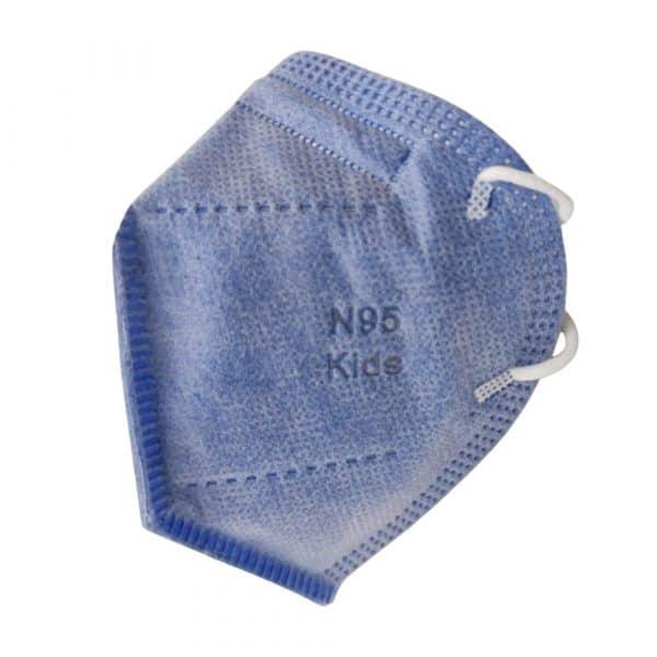 Paga 10 Lleva 20 Tapabocas N95 con Clip Nasal Colores para Niños | Empaque individual