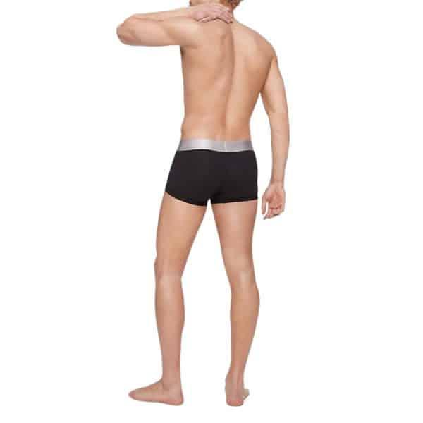 Boxer Hombre Calvin Klein Steel Micro Low-Rise Trunk Black   Original