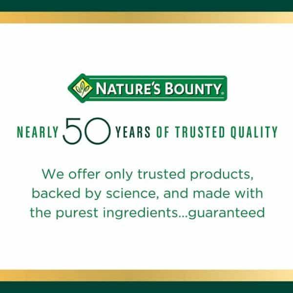 Biotina Nature's Bounty Softgels 5000mcg | 72 Cápsulas