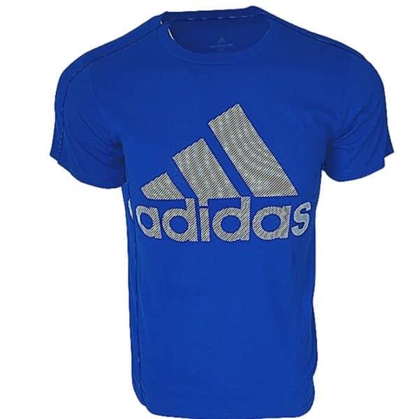 Camiseta Hombre Adidas Badge Of Sport Intercept Tee Printed Blue | Original