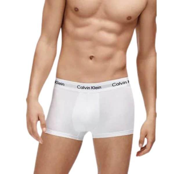 Pack 2 Bóxer Hombre Calvin Klein Trunk White | Original