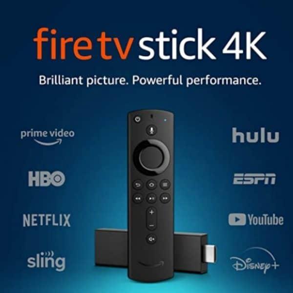 Fire TV Stick 4K con Alexa Voice Remote   Original