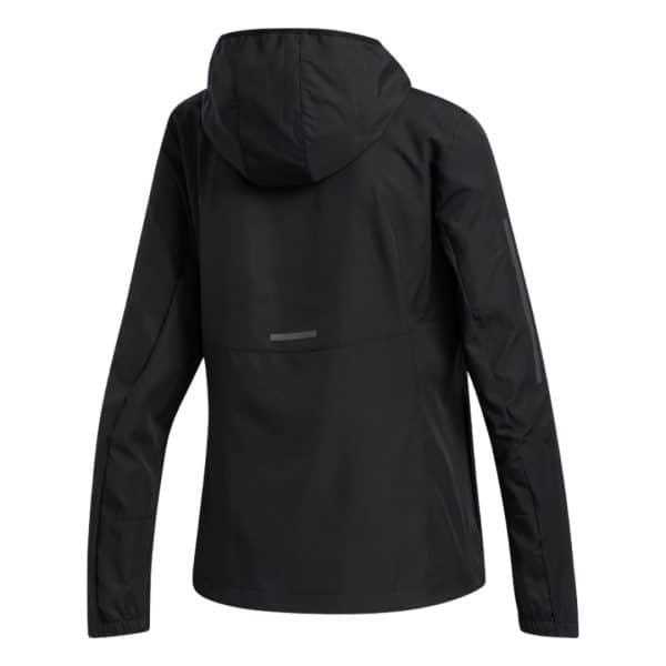 Chaqueta Mujer Adidas Own The Run Hooded Wind Black   Original