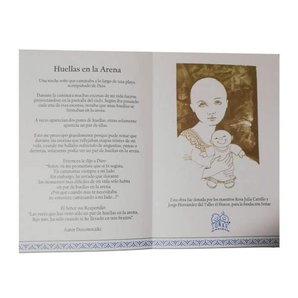 Tarjeta de Condolencias de Fundación Soñar | Física y Digital