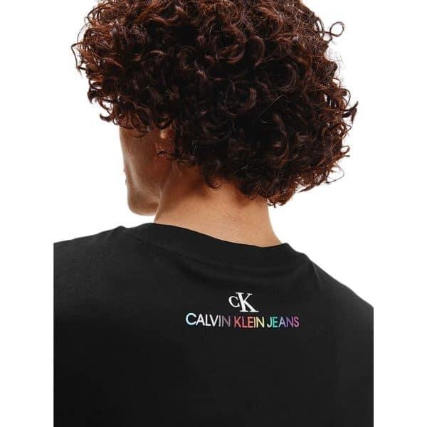 Camiseta Hombre Calvin Klein Logo Box Muscle Tank Top Black | Original