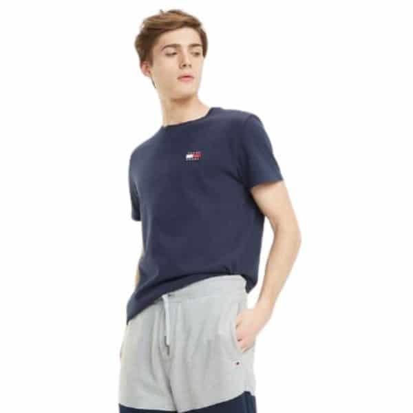 Camiseta Hombre Tommy Hilfiger Breton Stripe Dark Blue   Original