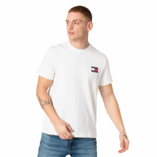 Camiseta Hombre Tommy Hilfiger Breton Stripe White | Original