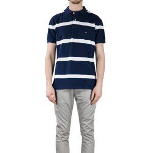 Polo Hombre Tommy Hilfiger Breton Stripe Dark Blue | Original