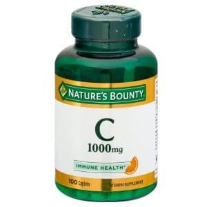 Vitamina C Nature's Bounty 1000 mcg | 100 Cápsulas